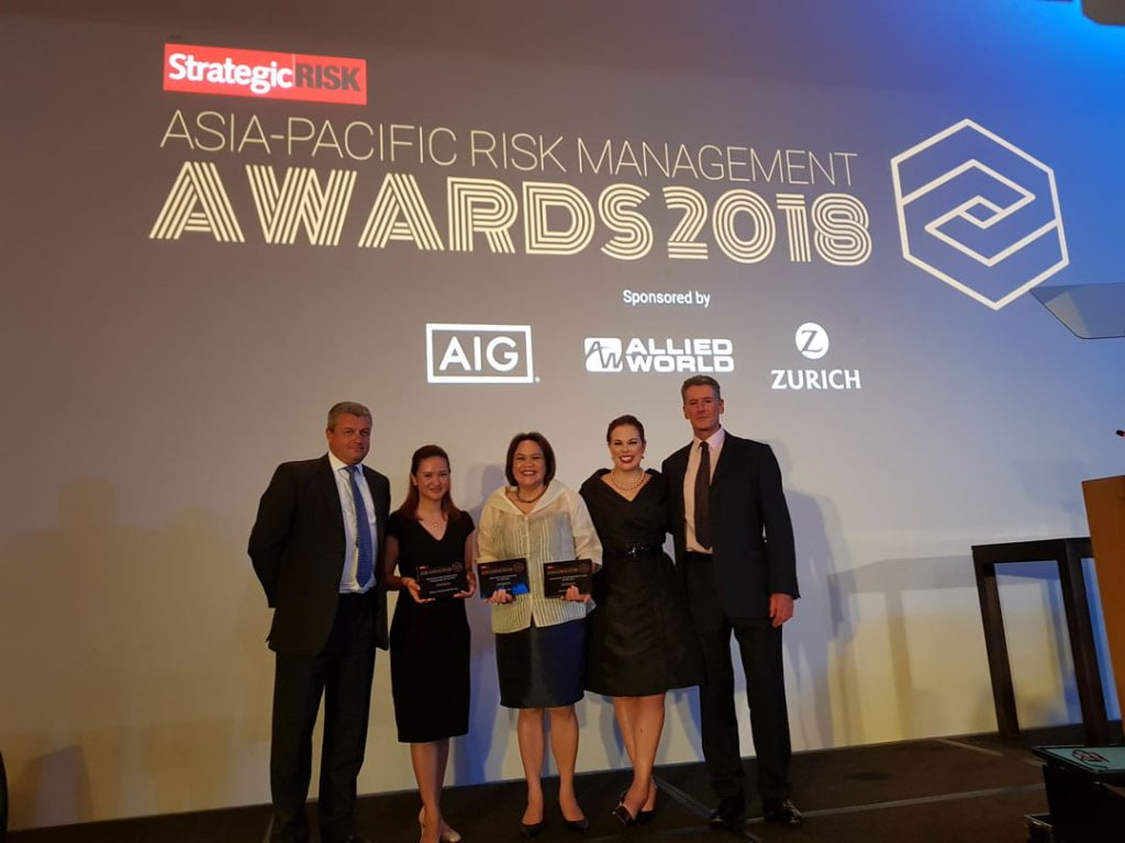 StrategicRISK Asia Pacific Risk Management Awards