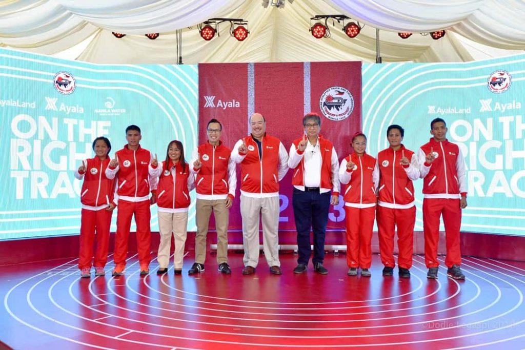 Ayala backs national track athletes