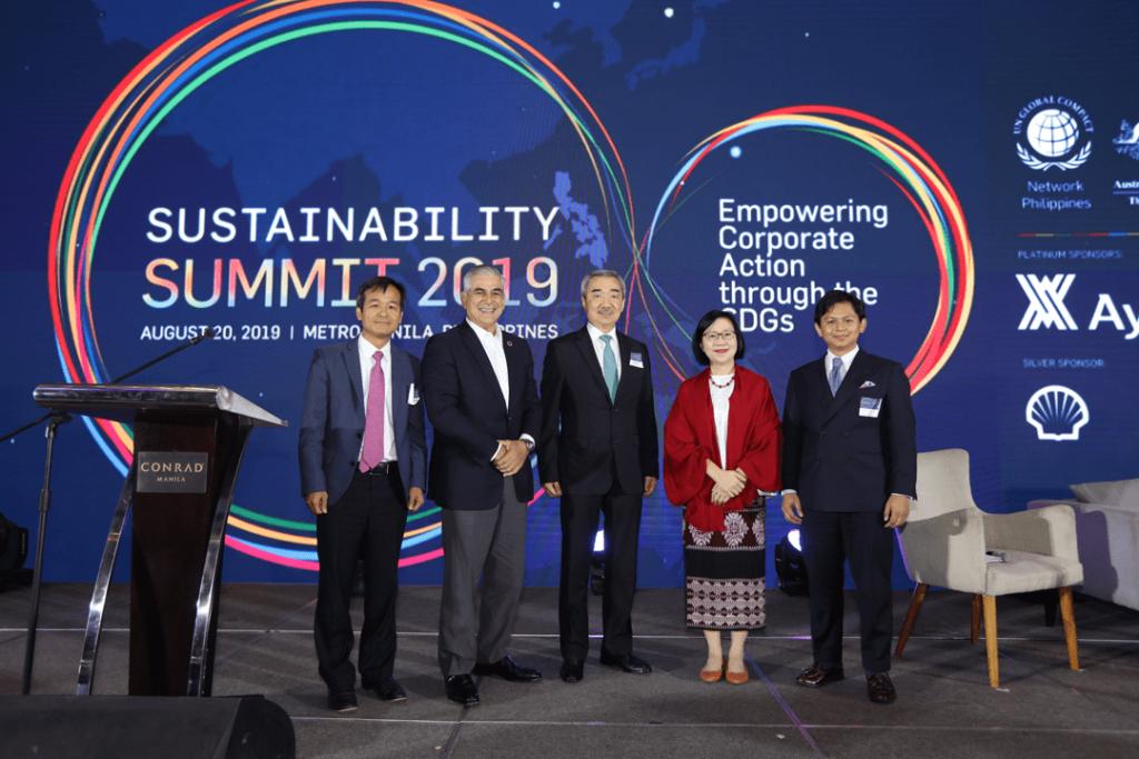 Zobel pushes Ayala Sustainability Blueprint; Globe joins UN GC Network Philippines-2