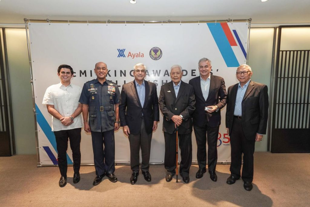 Ayala celebrates 21 McMicking Wings awardees for their professional excellence, dedication and patriotism