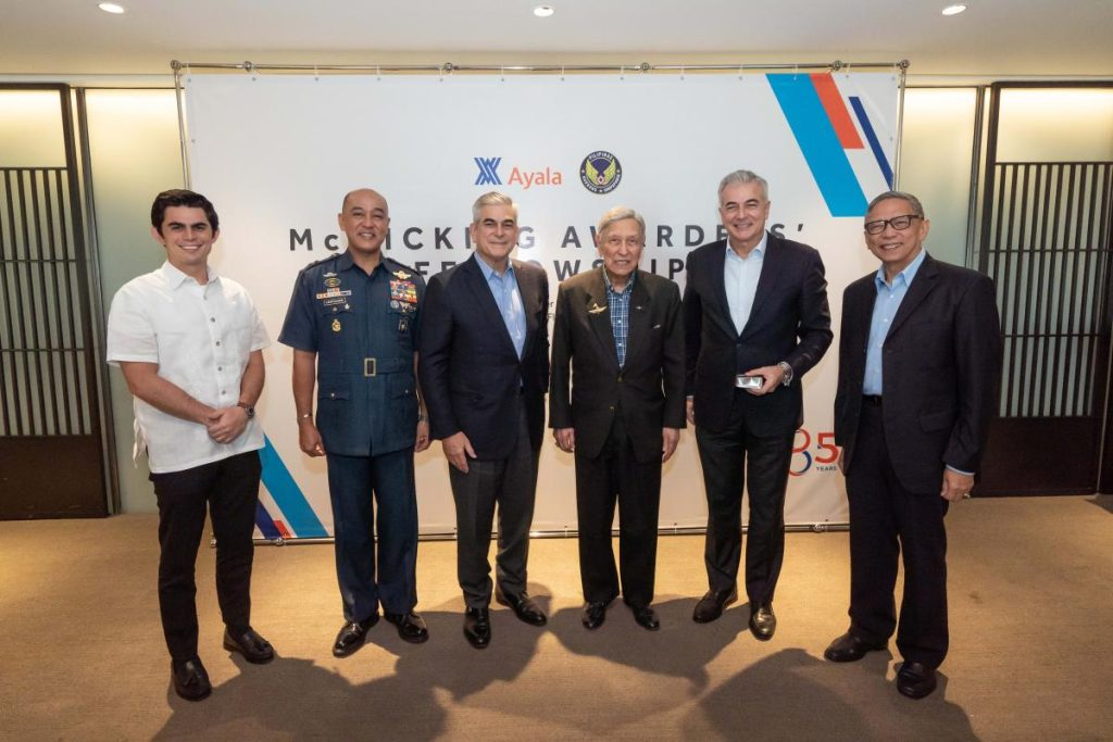 Ayala celebrates 21 McMicking Wings awardees for their professional excellence, dedication and patriotism-2