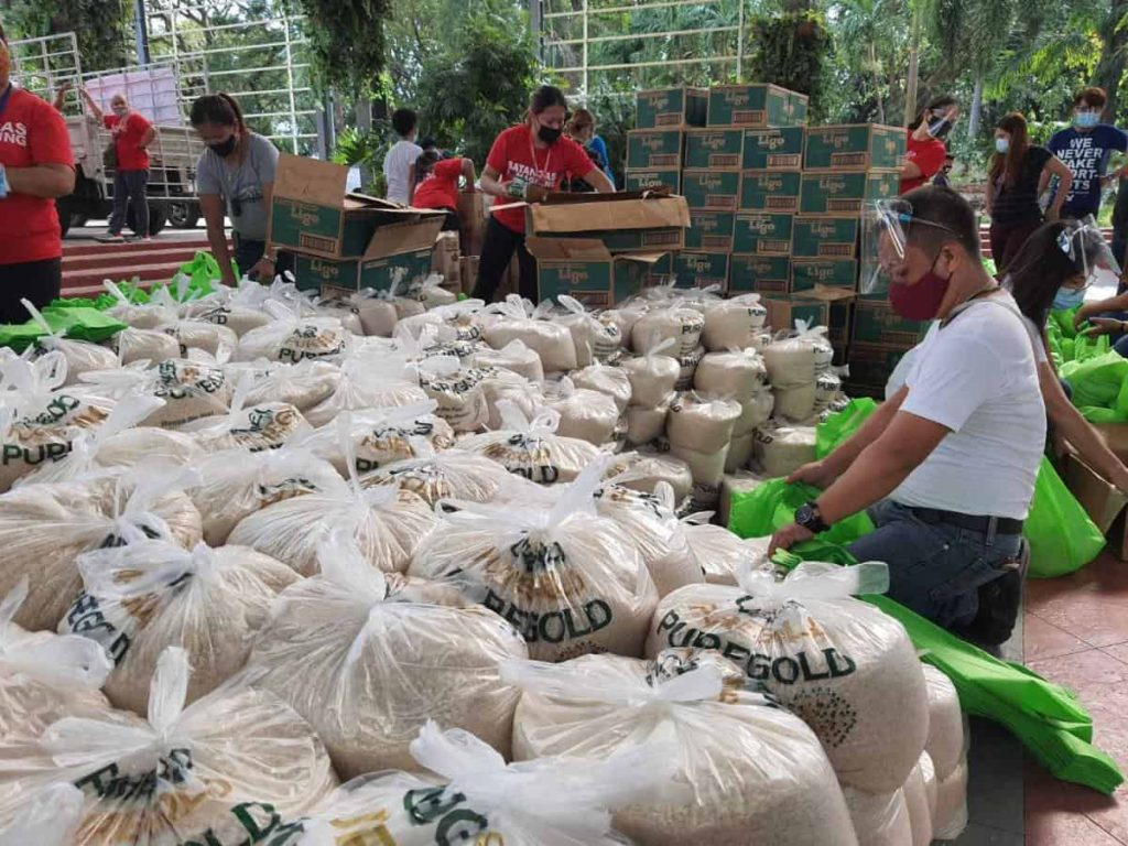 Ayala group brings relief to typhoon-stricken communities-min