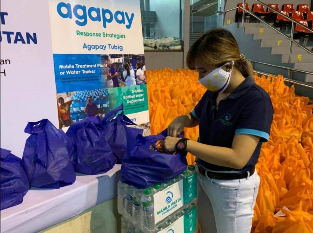Ayala group brings relief to typhoon-stricken communities -min
