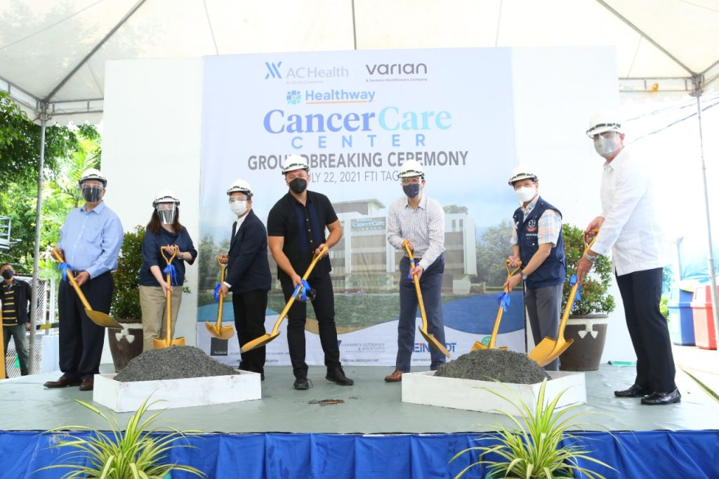 AC Health officially breaks ground for the construction of the Philippines' first dedicated cancer specialty hospital