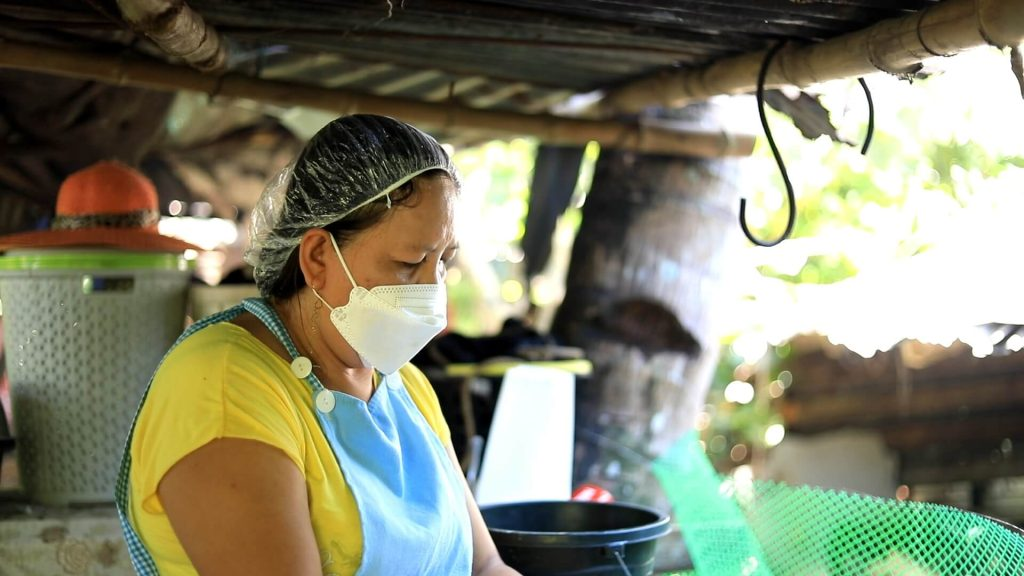 Judith Domingo of Lal-lo, Cagayan is a budding entrepreneur who wants to continue growing her small business so she can help change the lives of women in her community